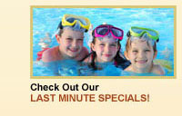 Last Minute Specials at Jonathan Harbor